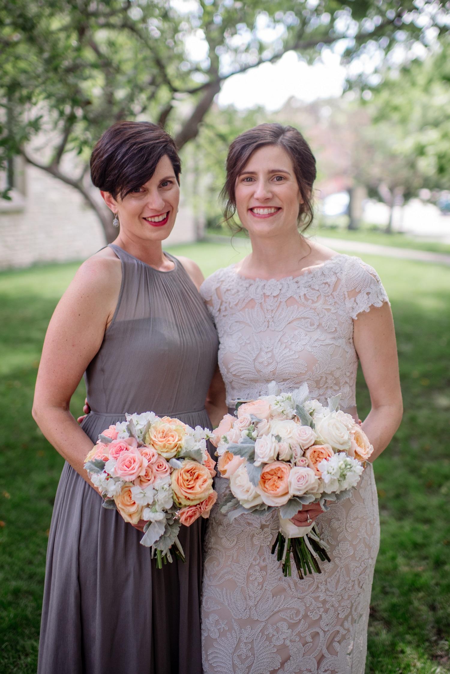 Coral Wedding Bouquets Blush Wedding Pastel Roses Coral Wedding