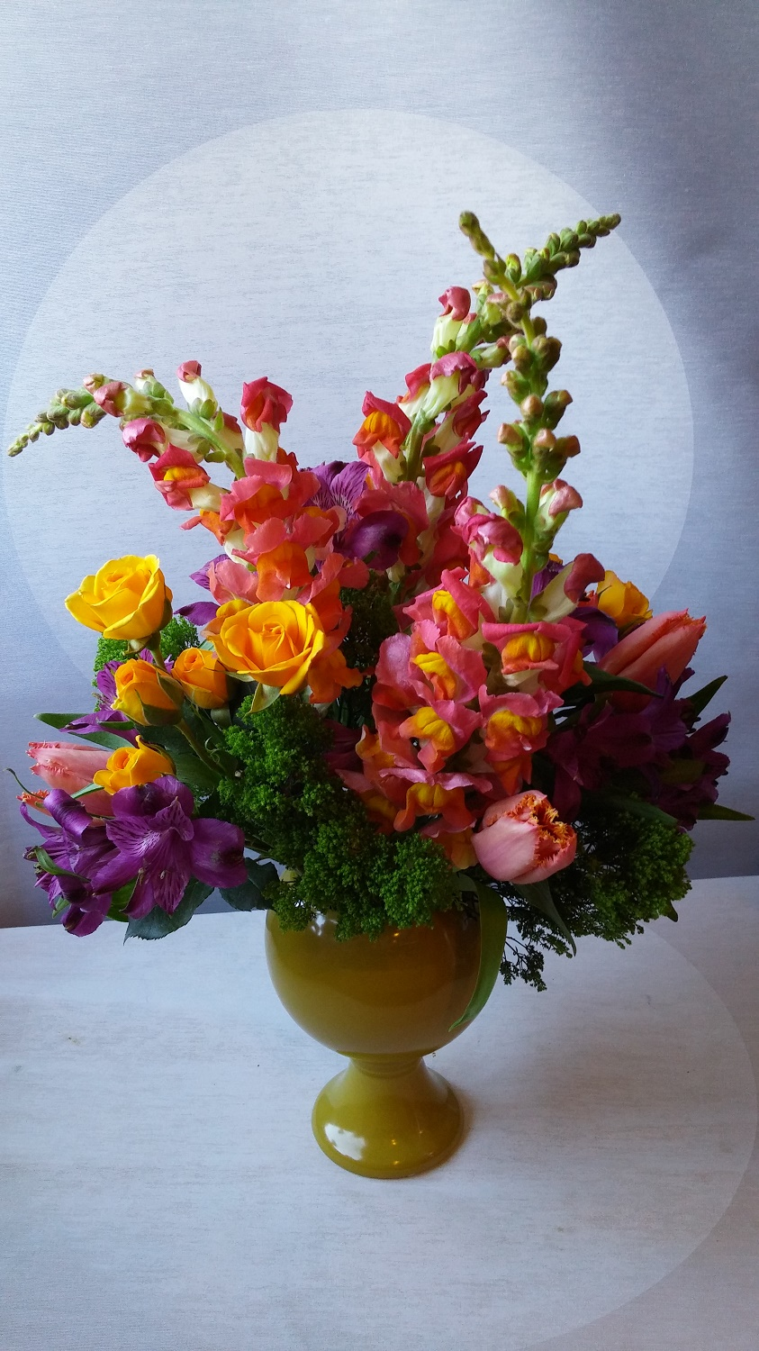 Birthday Flower Bouquet For Her Modern Flower Arrangements