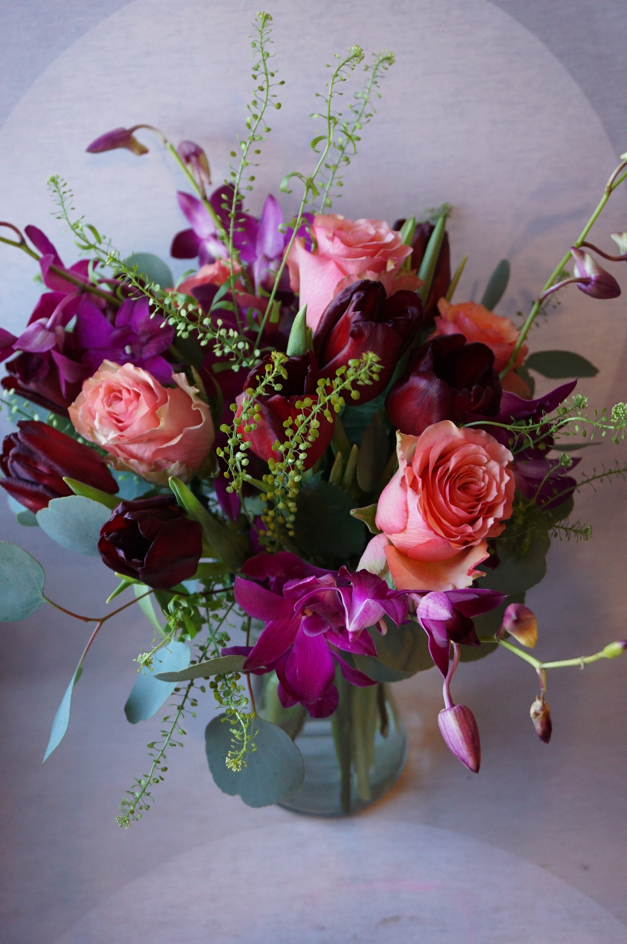 Custom Bouquet, Flower Delivery Minneapolis, Pennycress, Tulip ...