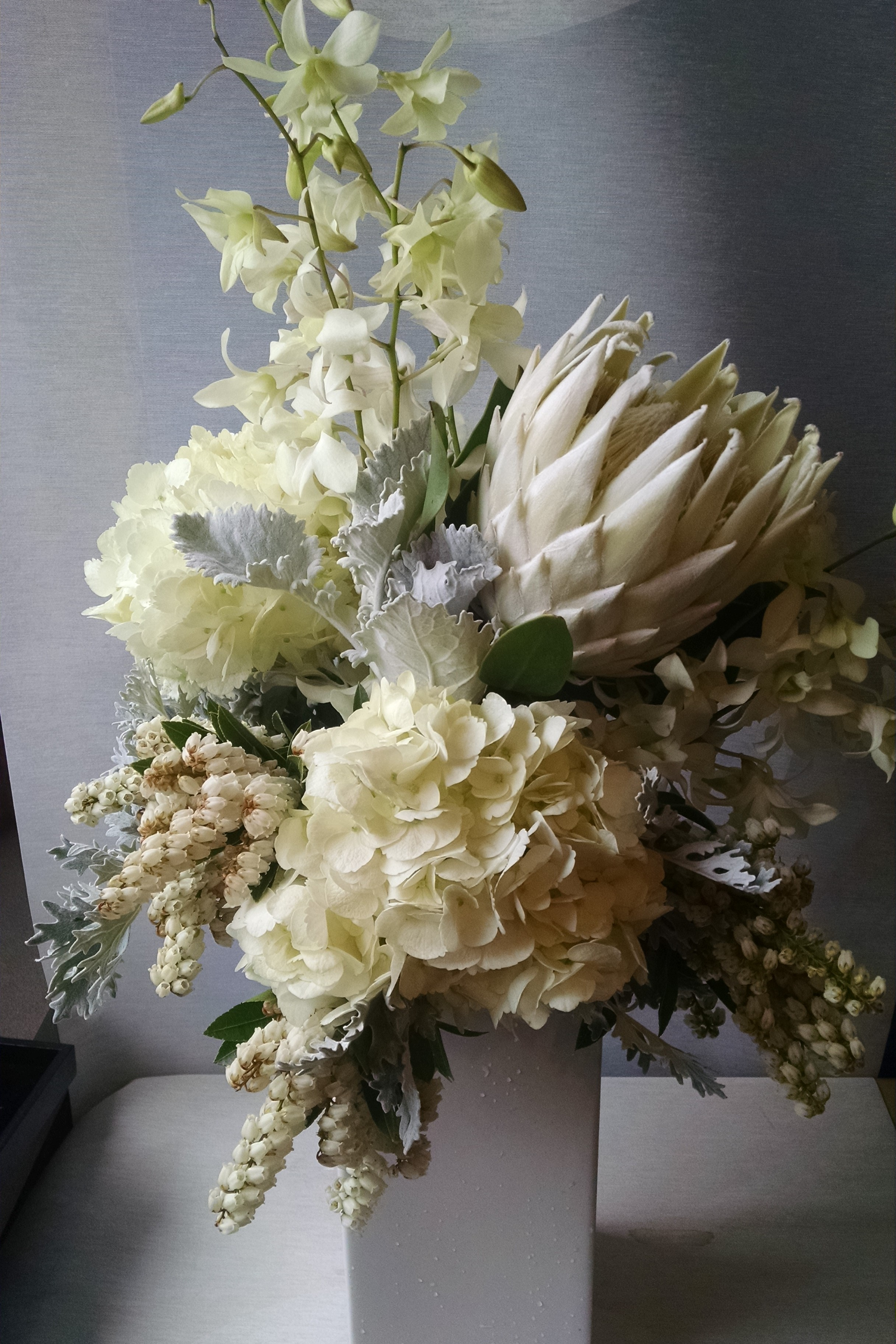 Minneapolis twin cities downtown florist flower delivery event minneapolis twin cities downtown florist flower delivery event flowers muted tones muted colors mink protea white orchid flowers tall flower mightylinksfo