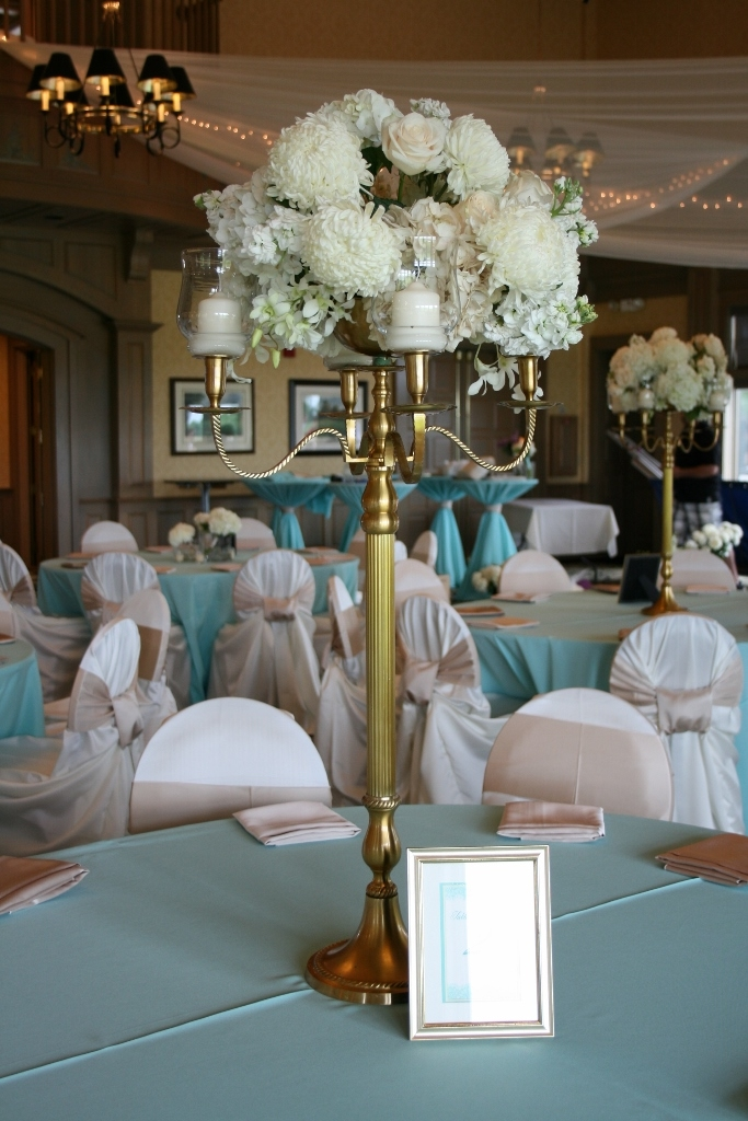 White And Tiffany Blue Flower Centerpieces Flowers Healthy
