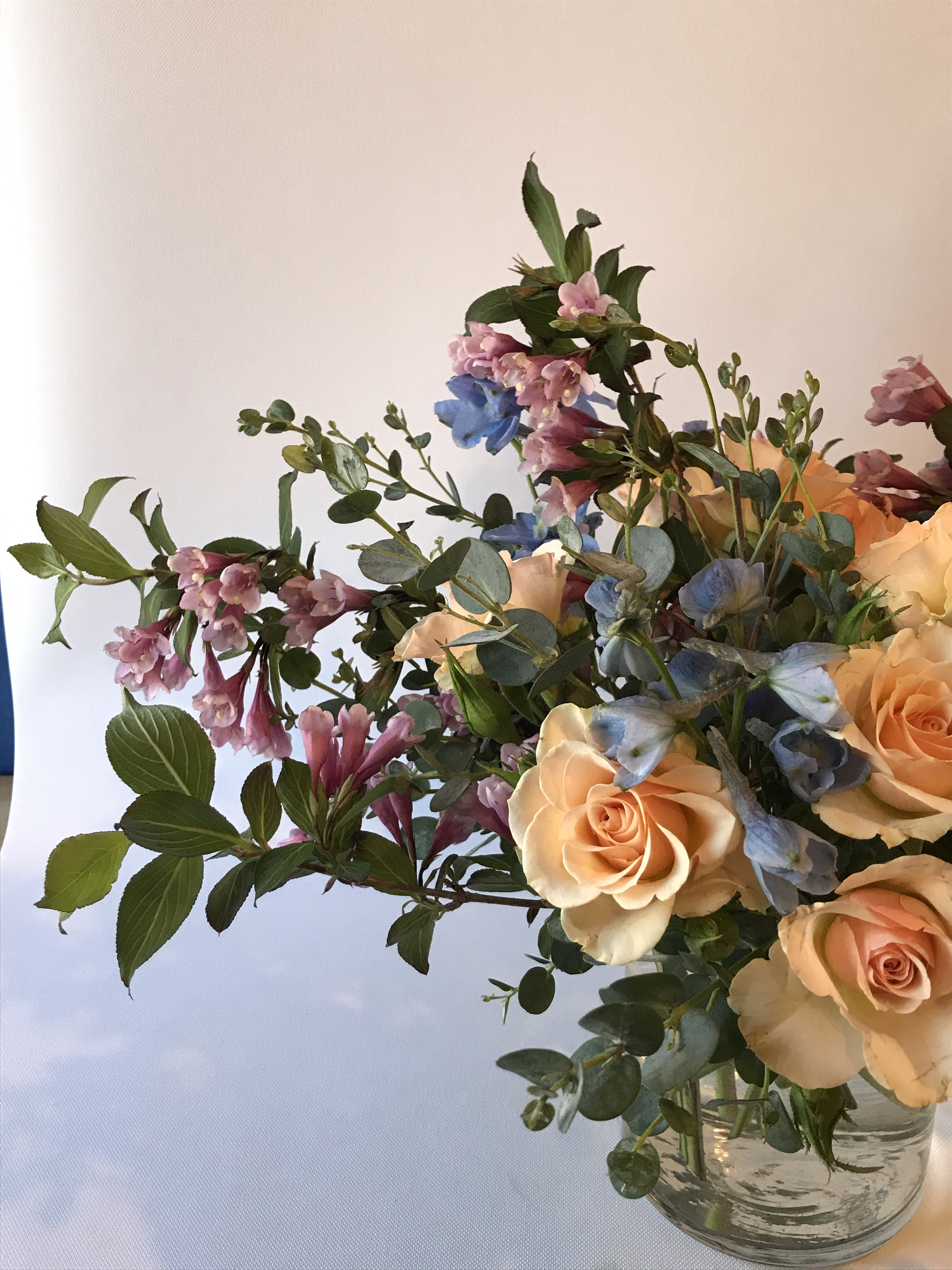 Minneapolis Flowers Rose Wedding Flower Delivery Blue
