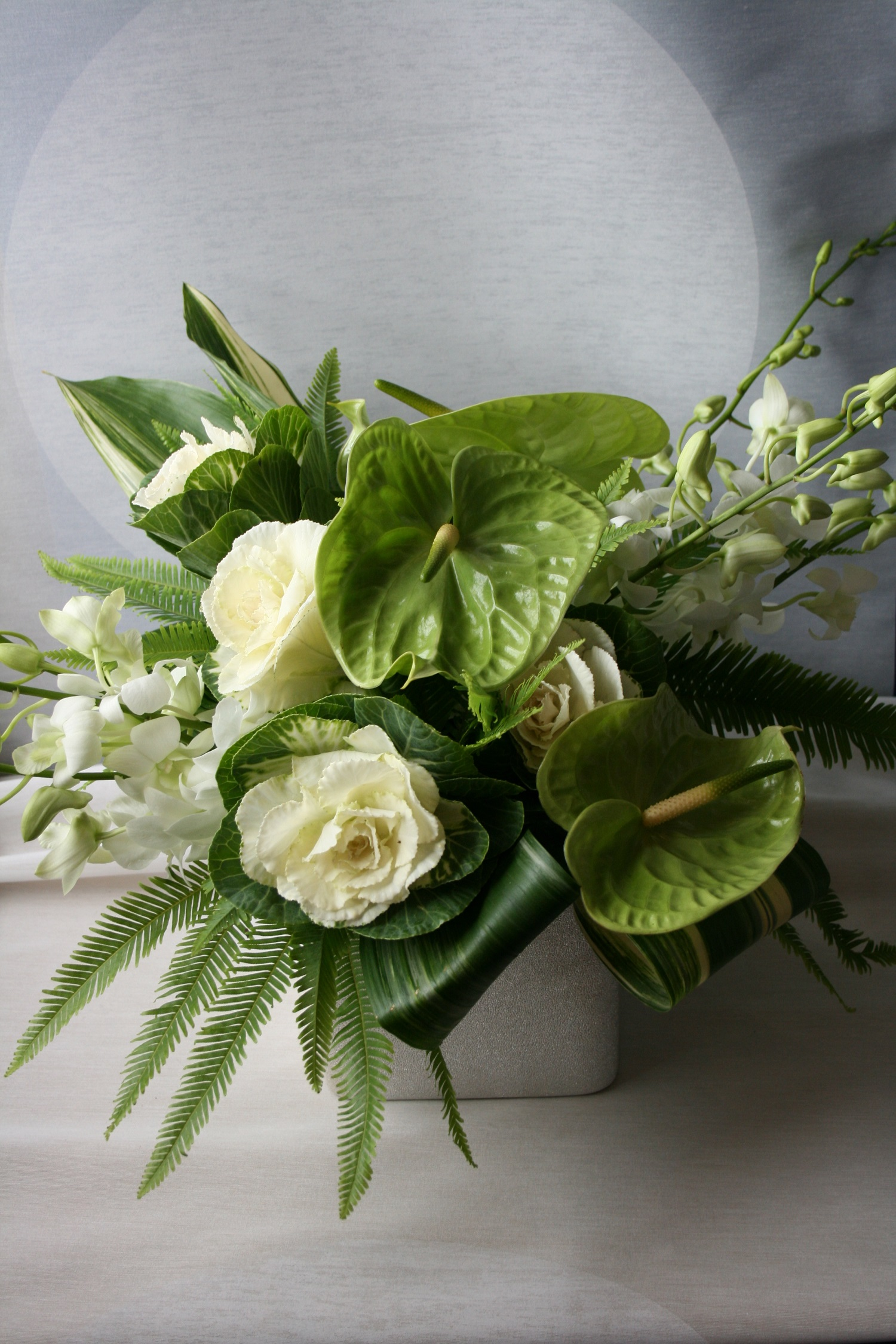 White and green flower arrangements anthurium flower arrangement white and green flower arrangements anthurium flower arrangement minneapolis flower delivery downtown florist modern flower arrangement mightylinksfo Image collections
