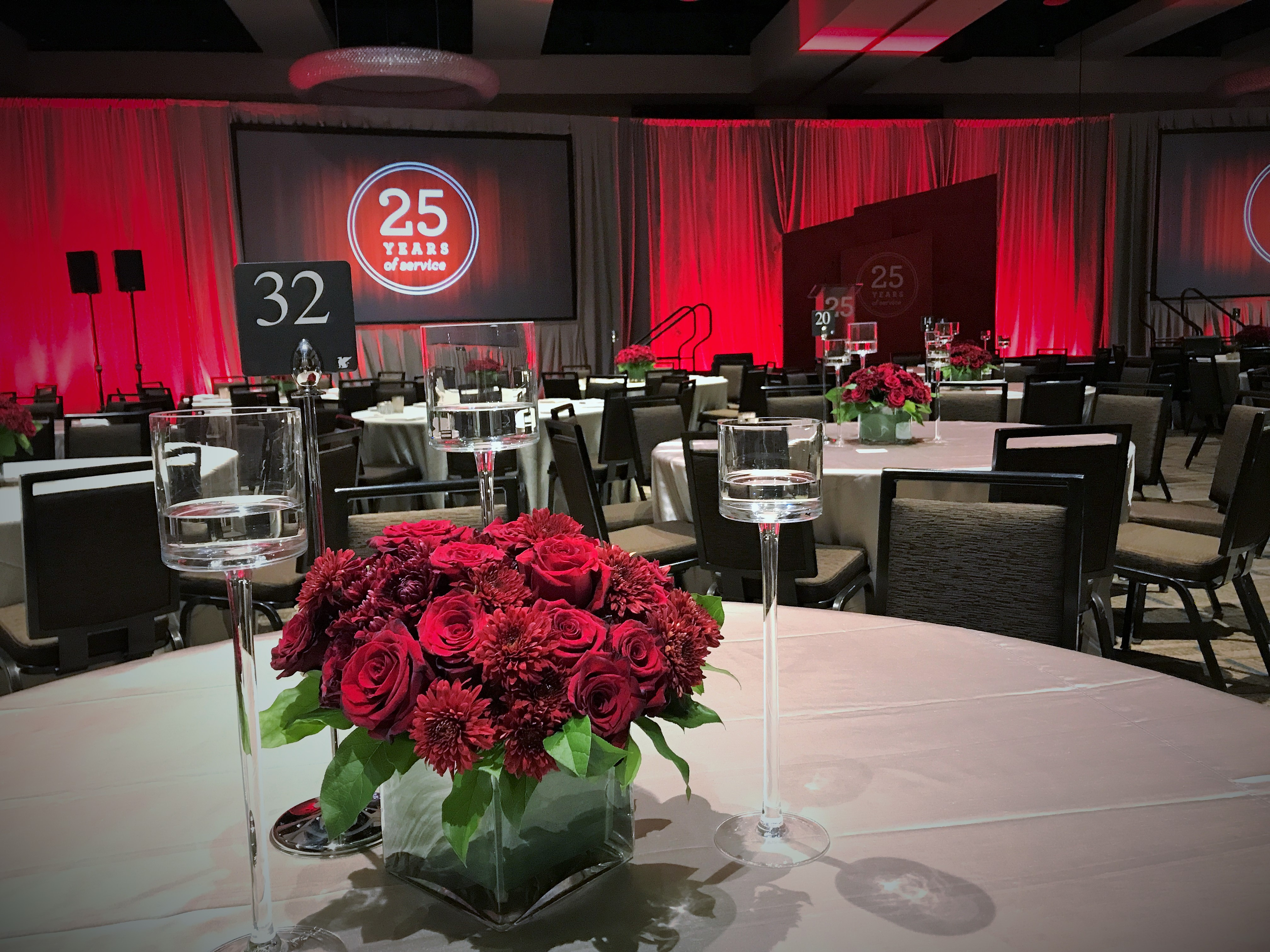 Minneapolis Florist Flowers Event Events Red Rose Dalia