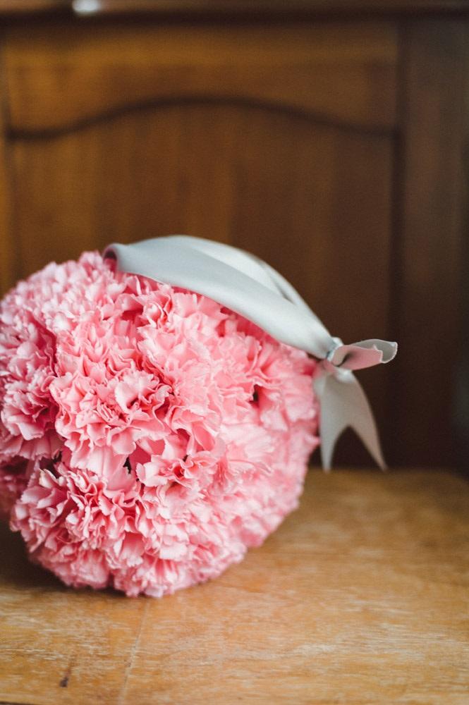 Carnation Bouquet Wedding, Flower Girl Pomander, Flower Girl Ball ...