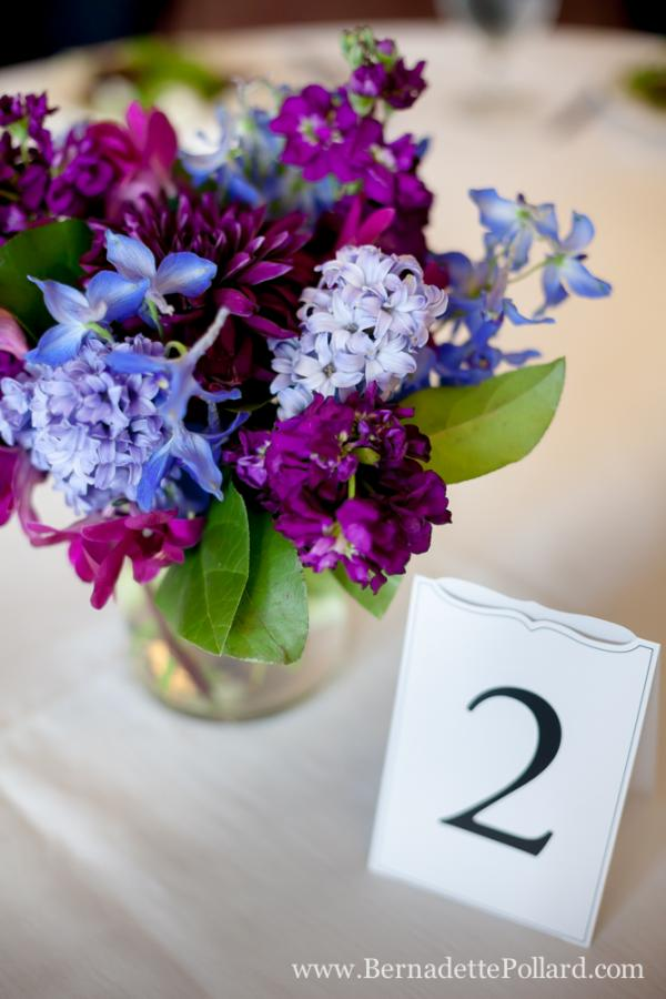 Minneapolis Purple Flowers Lavender Wedding Centerpiece Flower Arrangement
