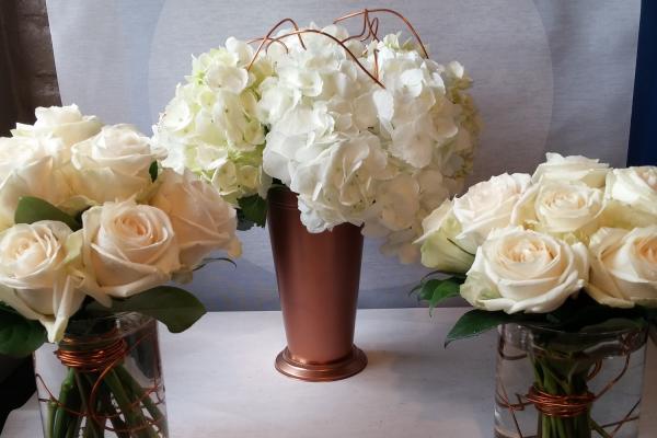 Vase Rental Luna Vinca