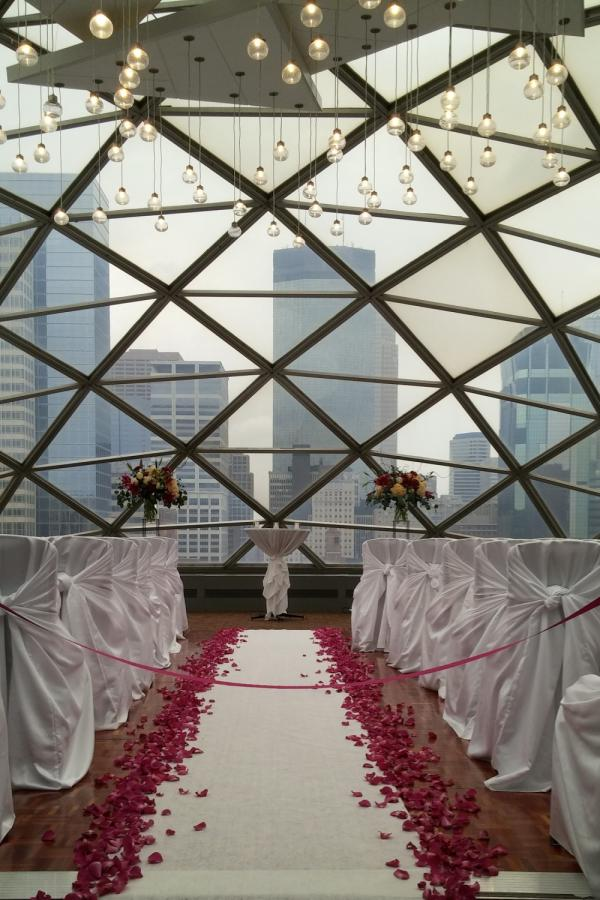 Wedding Aisle | Luna Vinca