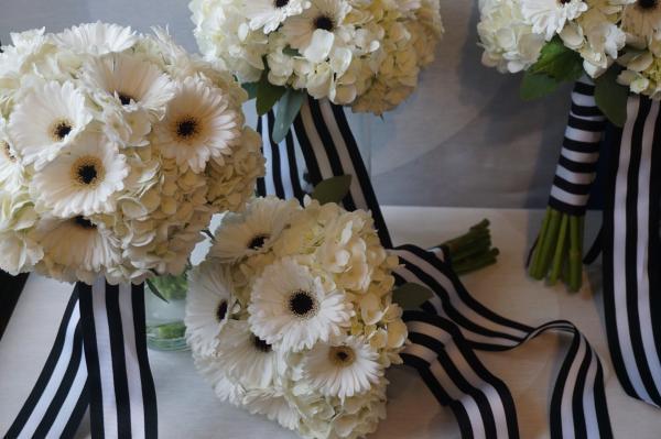 Black And White Themed Wedding Luna Vinca
