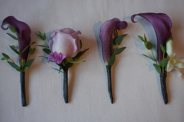 Boutonniere near me luna vinca minneapolis unique wedding ideas calla lily flower lavender rose flower arrangements flower delivery florist roses flowers lavender boutonniere freerunsca Image collections