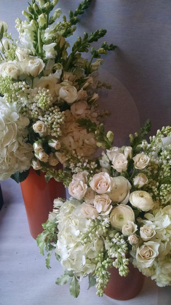 winter wedding flowers, white ranunculus, white hydrangea, winter weddings, wedding bouquets, White Flowers, Winter Flowers, Minneapolis, Shinola, white, ...