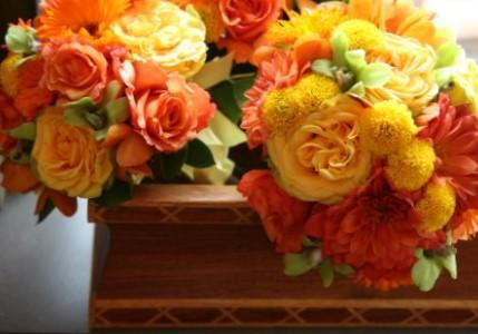 Yellow Rose Bouquet Hybrid Roses Fall Color Wedding Bouquets