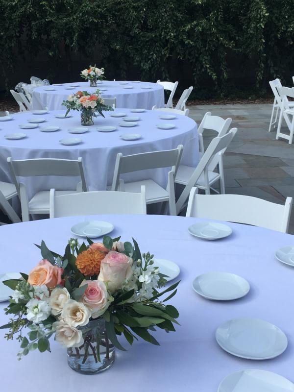 Wedding Reception Centerpieces Luna Vinca